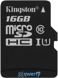 Kingston 16GB microSDHC C10 UHS-I R80MB/s (SDCS/16GBSP)
