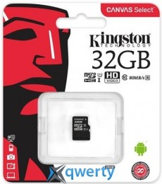 Kingston 32GB microSDHC C10 UHS-I R80MB/s (SDCS/32GBSP)