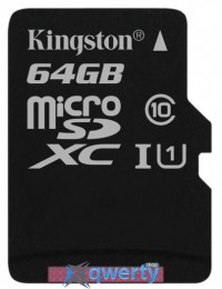 Kingston 64GB microSDXC C10 UHS-I R80MB/s (SDCS/64GBSP)