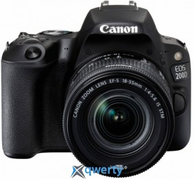 Canon EOS 200D kit 18-55 IS STM Black (2250C017)