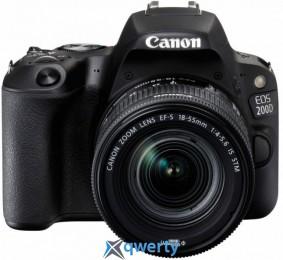 Canon EOS 200D kit 18-55 IS STM Black (2250C017)