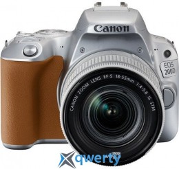 Canon EOS 200D kit 18-55 IS STM Silver (2256C006)