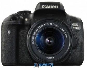 Canon EOS 750D + 18-55 DC III (0592C112)