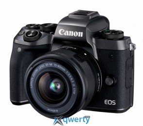 Canon EOS M5 + 15-45 IS STM Kit Black (1279C046)