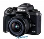 Canon EOS M5 + 15-45 IS STM Kit Black (1279C046)