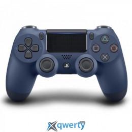 Беспроводной джойстик Dualshock 4 V2 Midnight Blue (PS4)