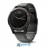 Garmin Fenix 5 Slate Gray Sapphire with Metal Band (010-01688-21)