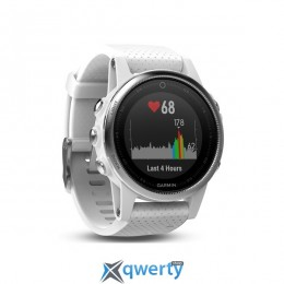 Garmin Fenix 5S GPS Watch Carrara White (010-01685-00)