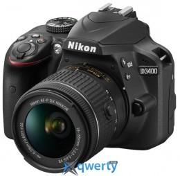 Nikon D3400 + AF-P 18-55 VR + AF-P 70-300VR (VBA490K005)
