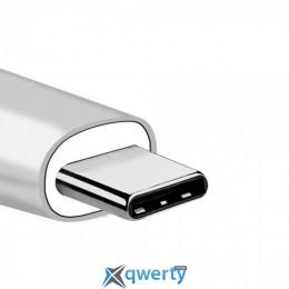 WIWU Adapter T3 Plus USB-C to USB-C+HDMI+2xUSB3.0 HUB Silver (TCH03-PDSL)