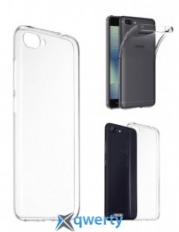 ZenFone 4 Max Pro Clear Soft Bumper для смартфона Asus ZenFone 4 Max (ZC554KL) Transparent