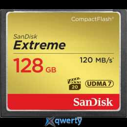 SANDISK CompactFlash 128 Gb Extreme (R120, W85MB/s) (SDCFXSB-128G-G46)
