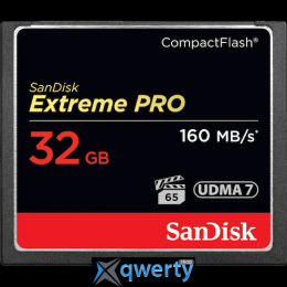 SANDISK CompactFlash 32 Gb Extreme Pro (R160, W150MB/s) (SDCFXPS-032G-X46)