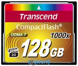 TRANSCEND Compact Flash 128 GB (1000X) (TS128GCF1000)