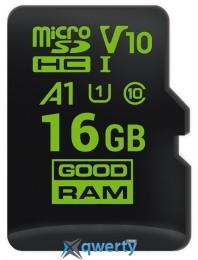 GOODRAM microSDHC 16GB A1 C10 V30 UHS-I no adapter (M1A0-0160R11-A1)