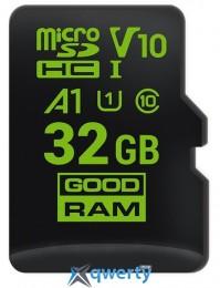 GOODRAM microSDHC 32GB A1 C10 V30 UHS-I no adapter (M1A0-0320R11-A1)