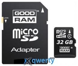 GOODRAM microSDHC 32GB Class 4 + adapter (M40A-0320R11)