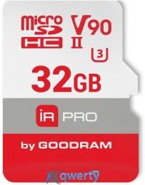 GOODRAM microSDHC 32GB IRDM PRO UHS II V90 U3 (R280/W240) (IRP-M9BA-0320R11)