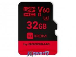 GOODRAM microSDHC 32GB IRDM UHS II V60 U3 (R280/W110) (IR-M6BA-0320R11)