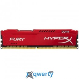 Kingston DDR4-2933 8192MB PC4-23500 HyperX Fury Red (HX429C17FR2/8)