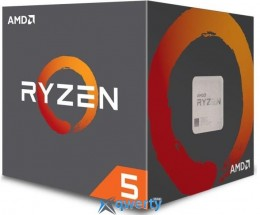 AMD Ryzen 5 2600X 3.6GHz/16MB (YD260XBCAFBOX) sAM4 BOX