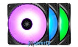 DEEPCOOL RF 120 RGB Three Pack (RF120 3 X FAN)
