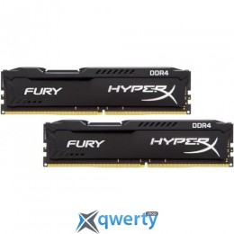 Kingston DDR4-3466 32GB PC4-27700 (2x16) HyperX Fury Black (HX434C19FBK2/32)