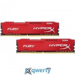 Kingston DDR4-3466 32GB PC4-27700 (2x16) HyperX Fury Red (HX434C19FRK2/32)