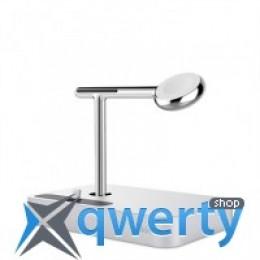 BELKIN Charge Dock iWatch + iPhone, silver (F8J183vfSLV)