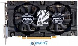 Inno3D GeForce GTX 1070 X2 V4 8GB GDDR5 (256bit) (1506/8000) (DisaplayPort, DVI, HDMI) (N1070-4SDV-P5DS)