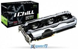 Inno3D iCHILL GeForce GTX 1070 X3 V2 8GB GDDR5 (256bit) (1582/8000) (DisaplayPort, DVI, HDMI) (C107C3-3SDN-P5DSX)
