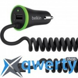 Belkin BOOST UP (Lightning Cable + USB) 3.4Amp (F8J154bt04-BLK)