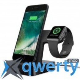 BELKIN PowerHouse iWatch + iPhone, black (F8J200vfBLK)