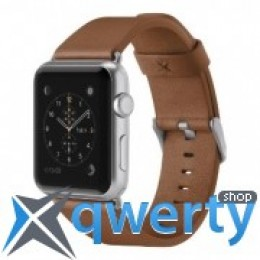 BELKIN Classic Leather Band for Apple Watch 42mm Brown (F8W732btC01)