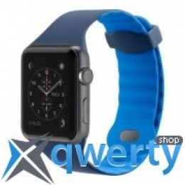 BELKIN Sport Band for Apple Watch (42mm) Blue (F8W730btC02)