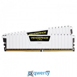Corsair DDR4-3000 16GB PC4-24000 (2x8) Vengeance LPX (CMK16GX4M2B3000C15W) White