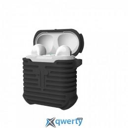 Coteetci Airpods Silicone Case Black (CS8106-BK)