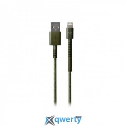 Fresh N Rebel Fabriq Lightning Cable 1,5m Army (2LCF150AR)