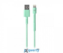 Fresh N Rebel Fabriq Lightning Cable 3m Peppermint (2LCF300PT)