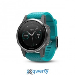 Garmin Fenix 5S GPS Watch Turquoise (010-01685-01)