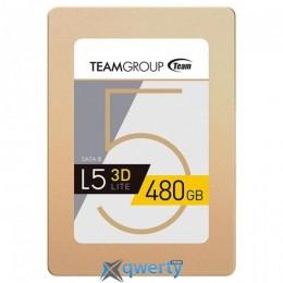 TEAM L5 Lite 3D 480GB 2.5