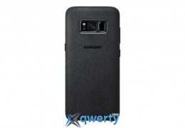 Alcantara Cover Samsung S8 Gray