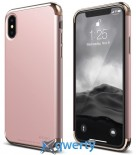 Elago Empire Case Chrome Rose Gold/Red for iPhone X (ES8EM-RGDRD)