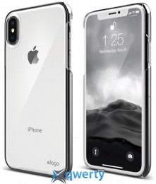 Elago Slim Fit 2 Case Crystal Clear for iPhone X (ES8SM2-CC)