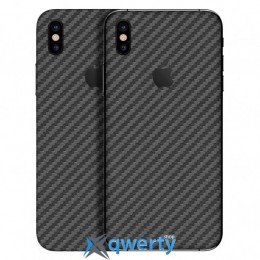 Наклейка dBrand iPhone X Back Black Carbon