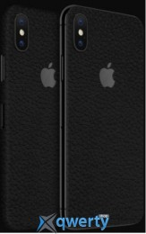 Наклейка dBrand iPhone X Back Black Leather