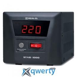 REAL-EL STAB-1000 (EL122400003) Black