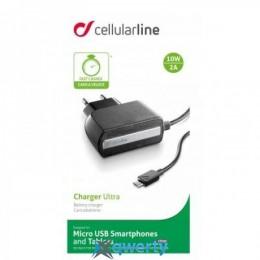 Cellular Line microUSB 2A black (ACHPHMICROUSB)