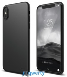Elago Slim Fit 2 Case Matt Black for iPhone X (ES8SM2-SFBK)