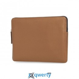 Knomo Geometric Embossed Laptop Sleeve Bronze for Macbook 12 (KN-14-209-BRO)